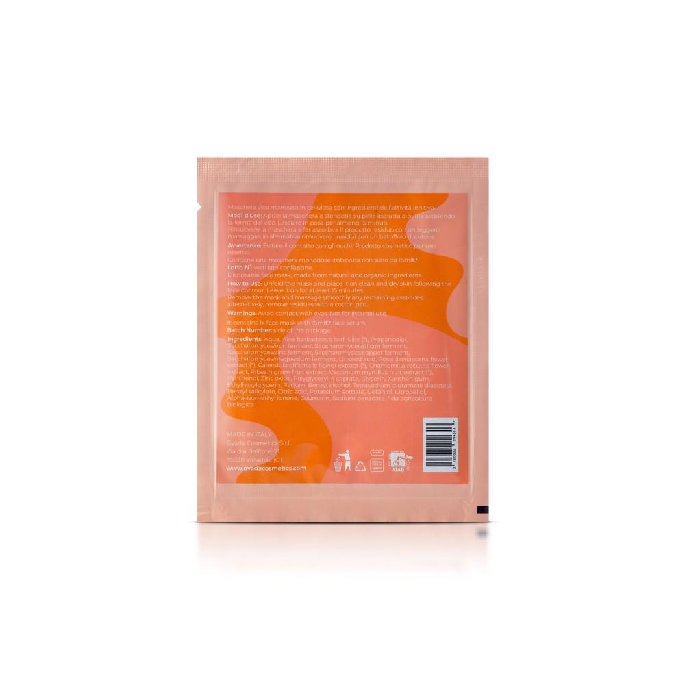 Gyada Cosmetics Face Sheet Mask n.2 - Lenitive / Sensitive Skin