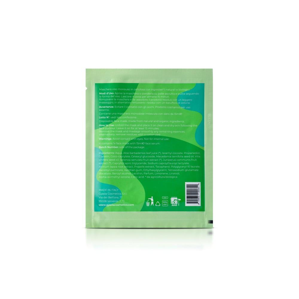 Gyada Cosmetics Face Sheet Mask n.6 - Purifying / Oily Skin
