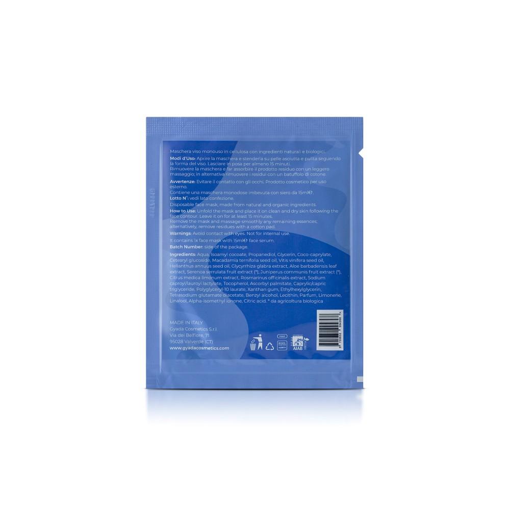 Gyada Cosmetics Face Sheet Mask n.7 - Astringent / Large Pores