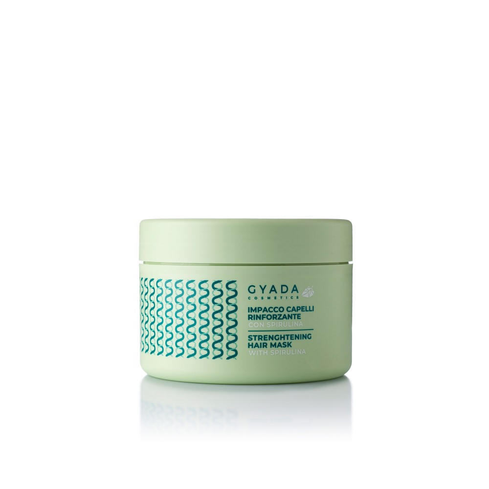 Gyada Cosmetics Strengthening Hair Mask with Spirulina