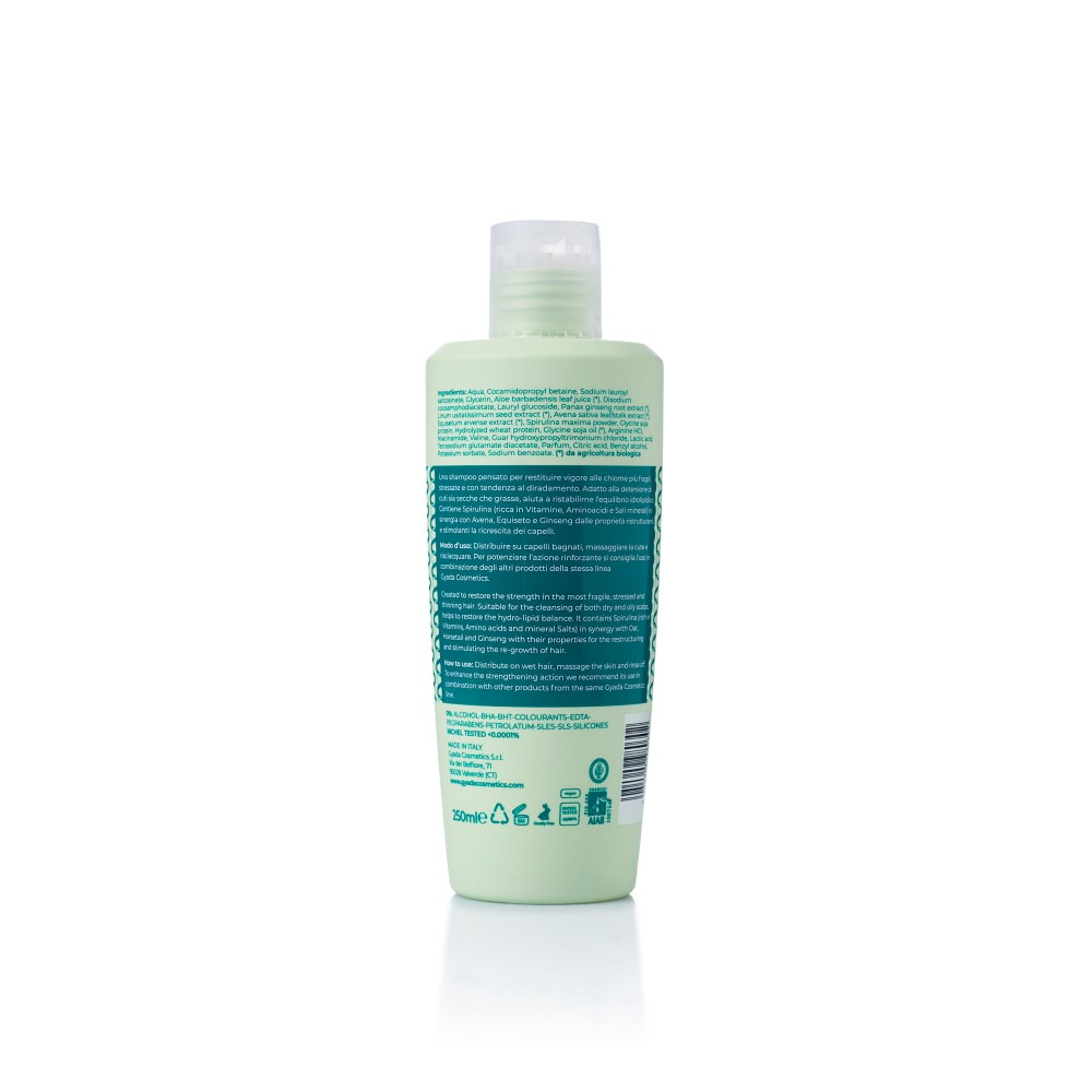 Gyada Cosmetics Strenghtening Shampoo with Spirulina