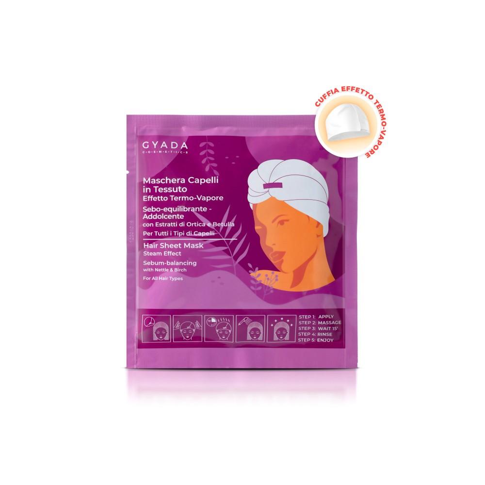 Gyada Cosmetics Hair Sheet Mask Steam Effect Sebum-balancing n.2