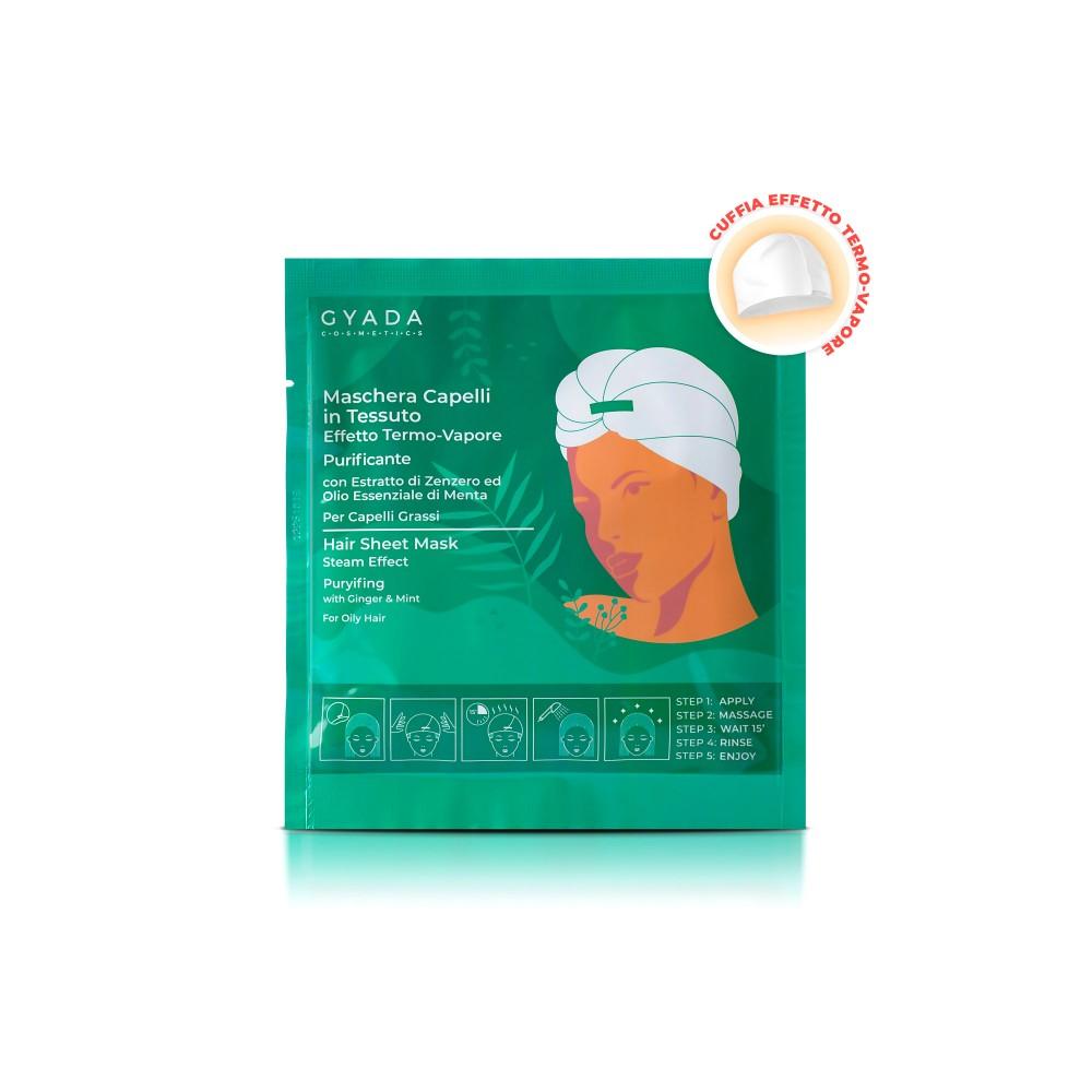 Gyada Cosmetics Hair Sheet Mask Steam Effect Puryifing - Anti-Dandruff n.5