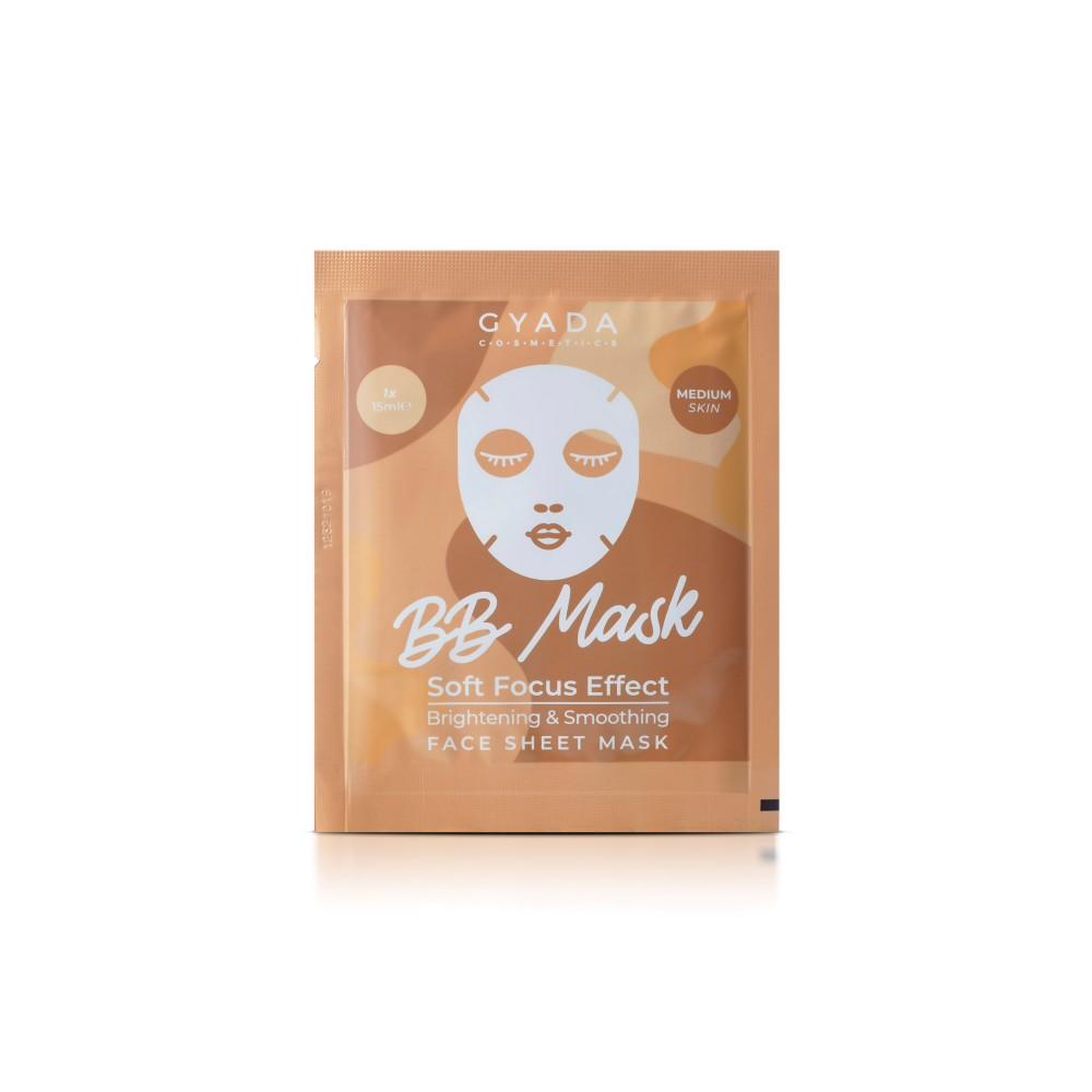 Gyada Cosmetics BB Mask - Brightening & Smoothing Sheet Mask - Medium