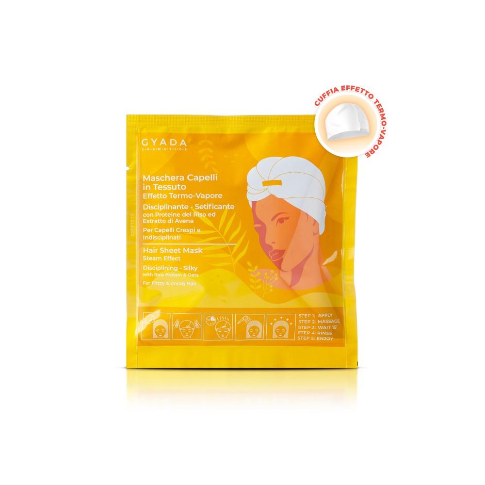Gyada Cosmetics Hair Sheet Mask Steam Effect Disciplining - Silky n.3
