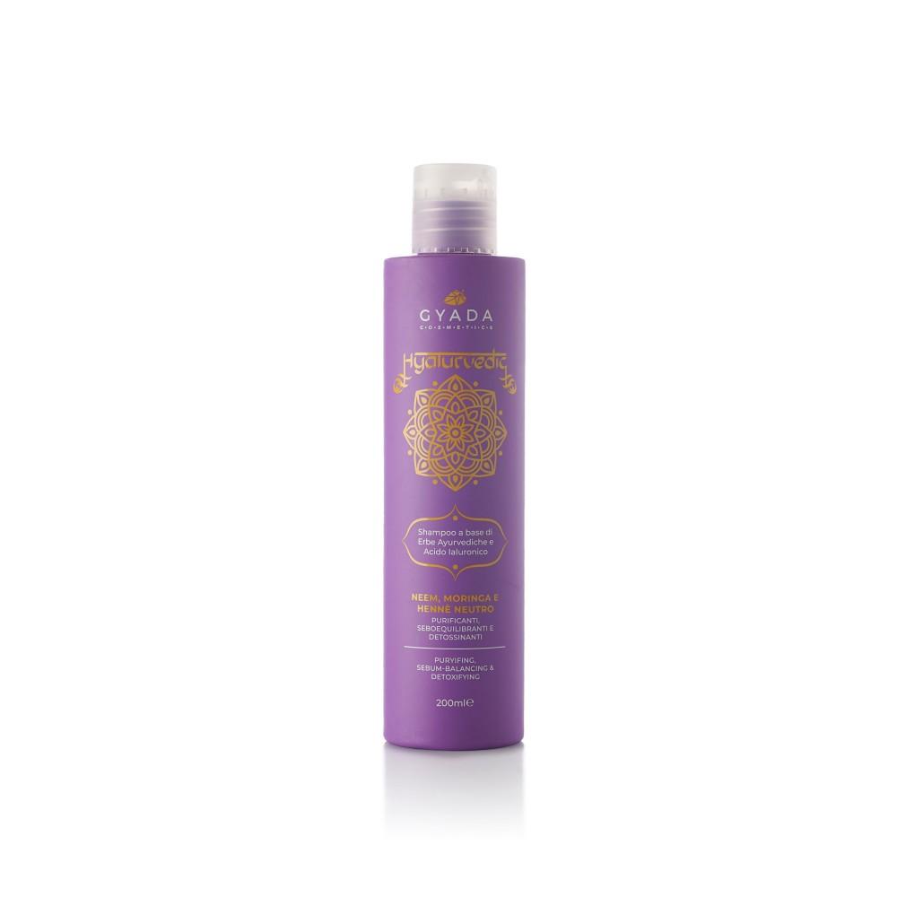 Gyada Cosmetics Hyalurvedic Shampoo Puryifing – Sebum-balancing - Detoxifying