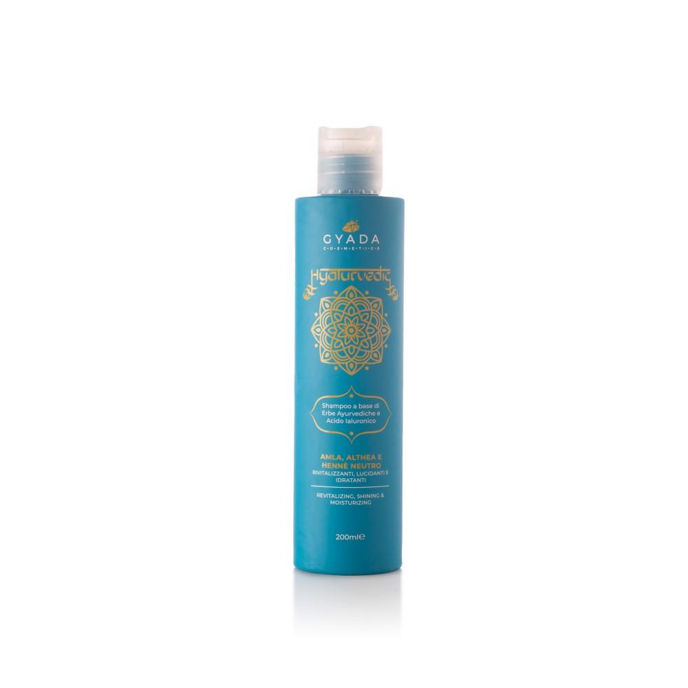 Gyada Cosmetics Hyalurvedic Shampoo Revitalizing – Shining - Moisturizing