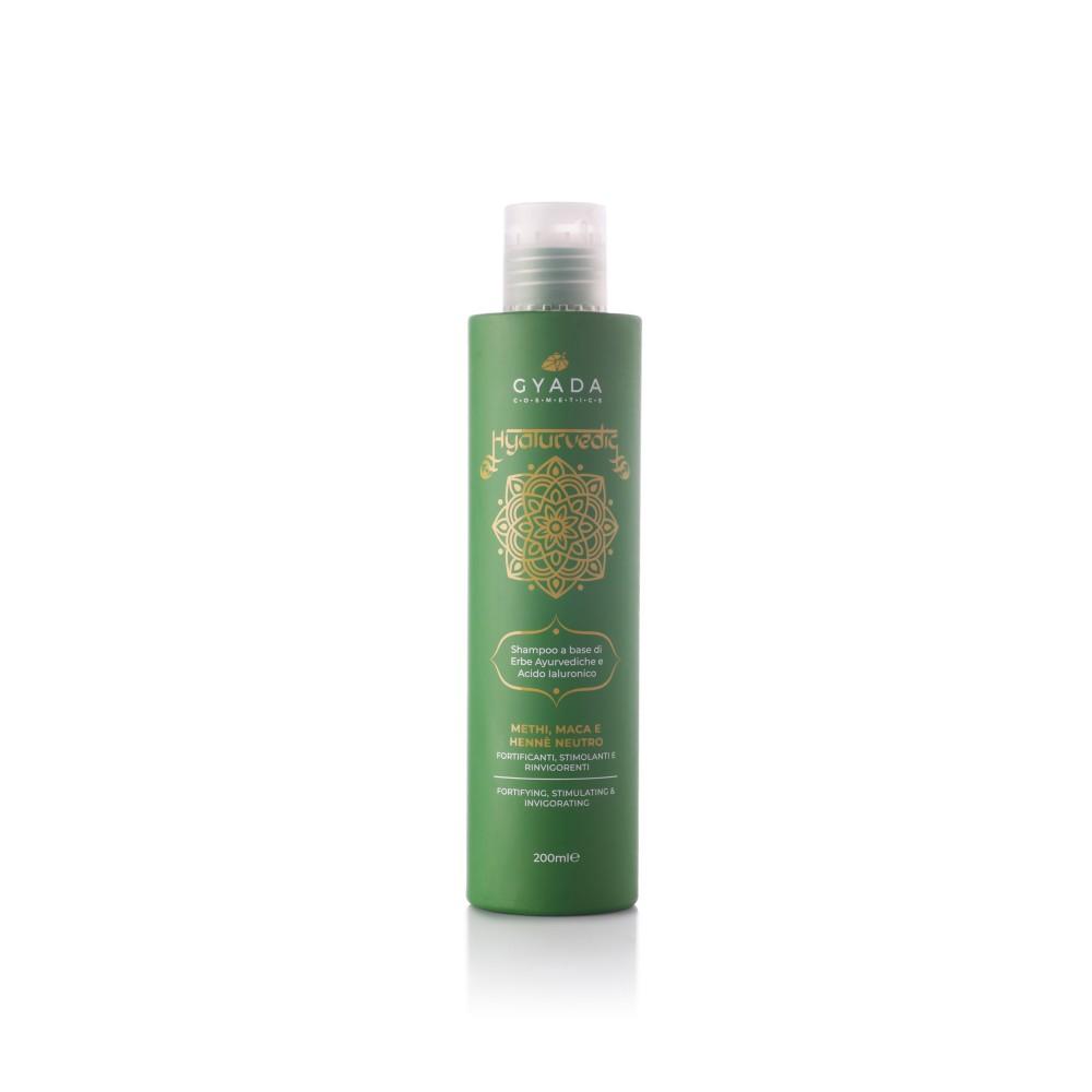 Gyada Cosmetics Hyalurvedic Shampoo Fortifying – Stimulating - Invigorating