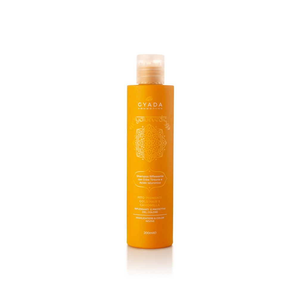 Gyada Cosmetics Hyalurvedic Highlighters Shampoo - Gold Hair