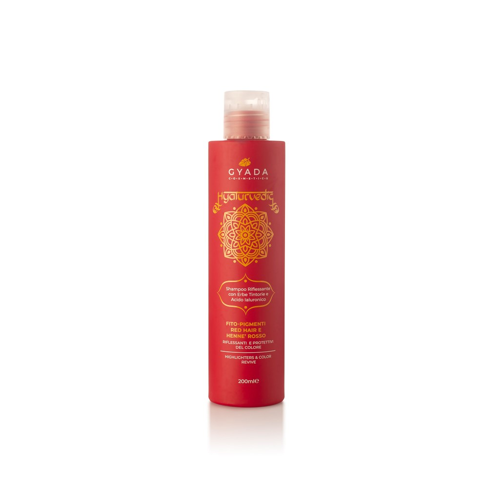 Gyada Cosmetics Hyalurvedic Highlighters Shampoo - Red Hair