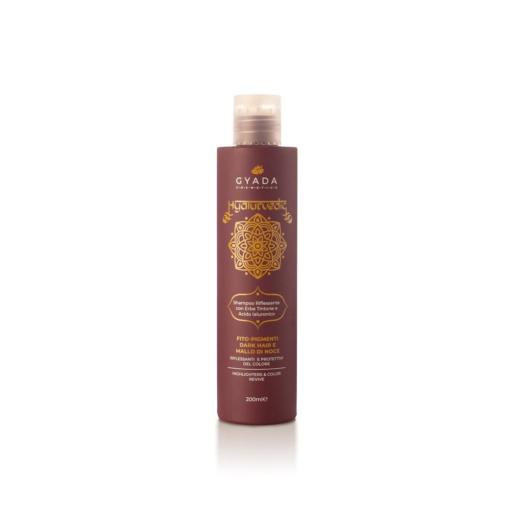 Gyada Cosmetics Hyalurvedic Highlighters Shampoo - Dark Hair