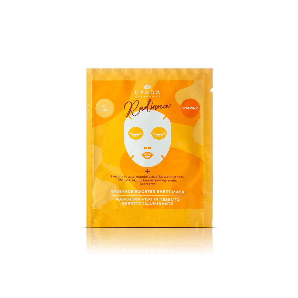 Gyada Cosmetics Radiance Booster Sheet Mask
