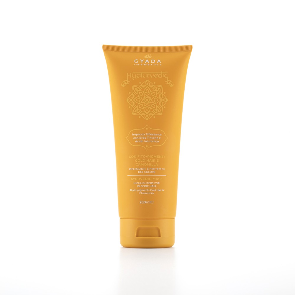 Gyada Cosmetics Highlighters Mask for Gold Hair